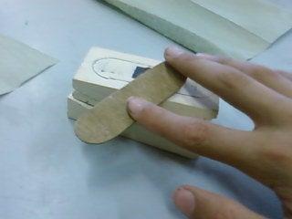 Make a Finger Board Deck (wood)