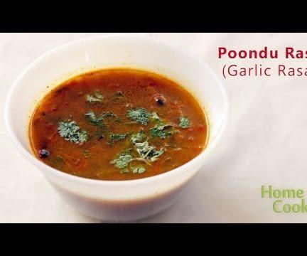 Poondu Rasam (Garlic Rasam)