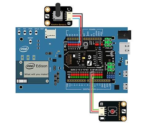 Intel® Edison Hands-on Day 3: Light Dimmer