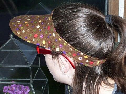 Sew a Woman's Summer Visor