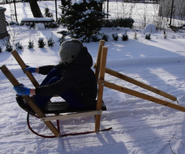 Human Powered Sled - Boat-o-Sled