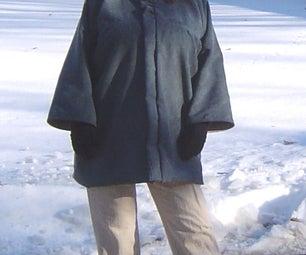 Blue Velvet Bog Coat
