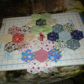 Hexagon Piecing Tutorial