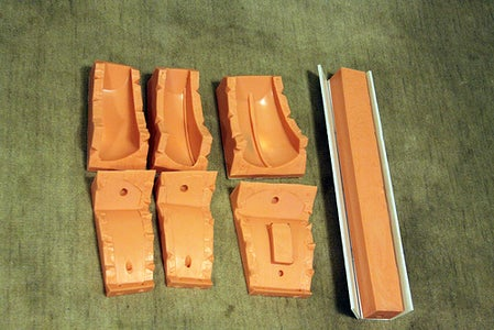 Making the Molds - Legs
