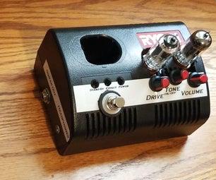 一个旧的充电器吗?不,是真的全管吉他耳机放大器和踏板