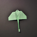 Stingray Paper Airplane