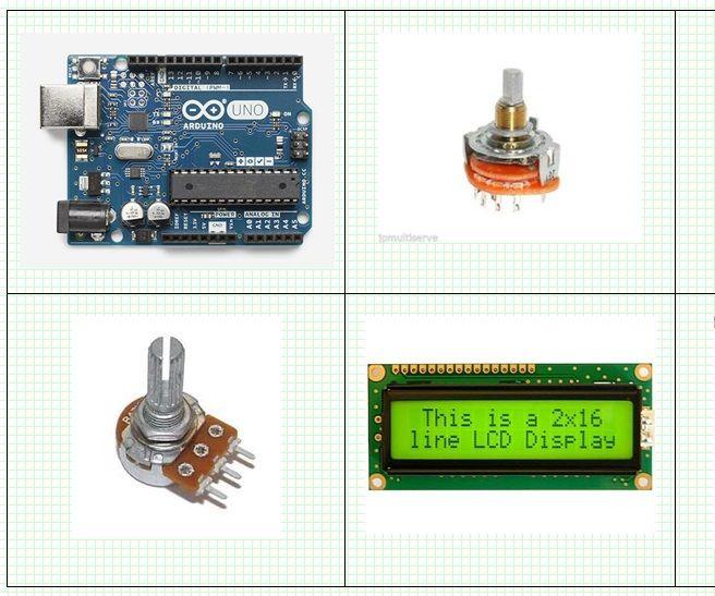 Arduino and LCD- 0 Volt -- 1000 Volt – User Selectable Digital Volt Meter