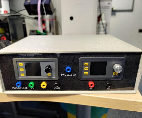 Power Supply With PWM Generator and Load Switch