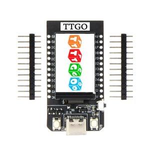 TTGO (color) Display With Micropython (TTGO T-display)