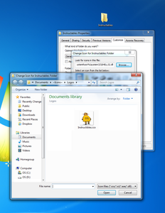 Customize Your Folder With Your Newly Created Icon