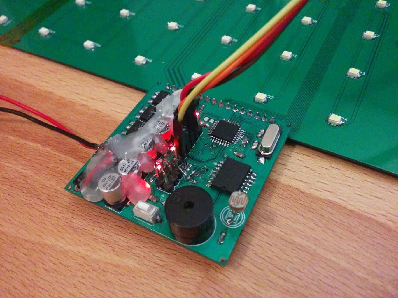 Soldering the Main Board and Testing All Electronics