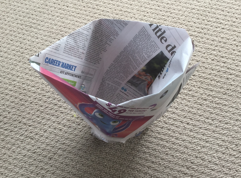 Newspaper Garbage Bag