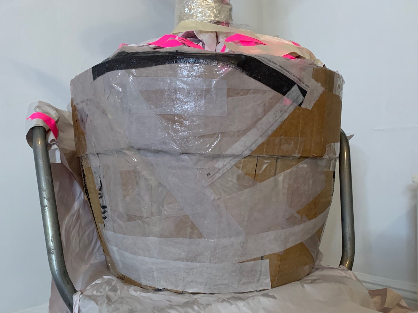 Cover Your Structure in Paper-mache