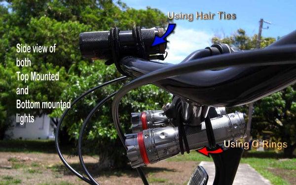Quick Tip #1 - Quick Bike Headlight Holders