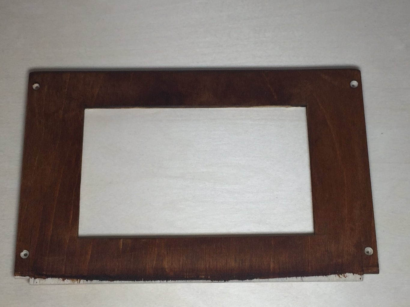 Prepare the Raspberry With the Display and Mount It Into the Front Panel