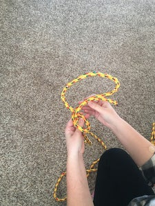 """Cross the """"working End"""" of Your Rope in Front of the Other"""