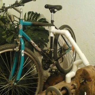 PVC Bench-top Bike Repair Stand