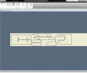 How to Go From Autodesk Inventor to CorelDRAW for Laser Cutting.  I Made It at Techshop