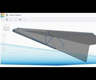 3D Print of World Record Paper Airplane