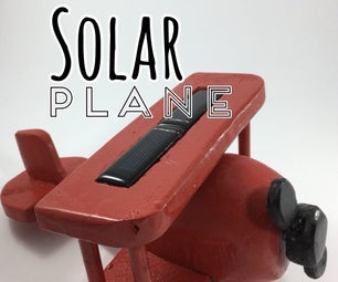 DIY Solar Plane