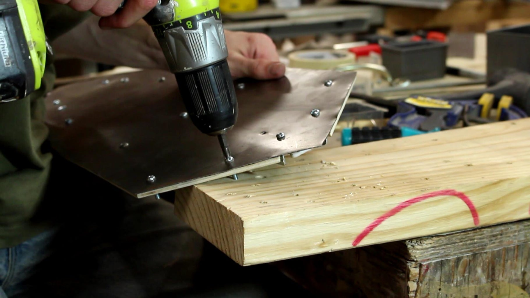 Screw Down the Wood. Just Don't Screw It Up.