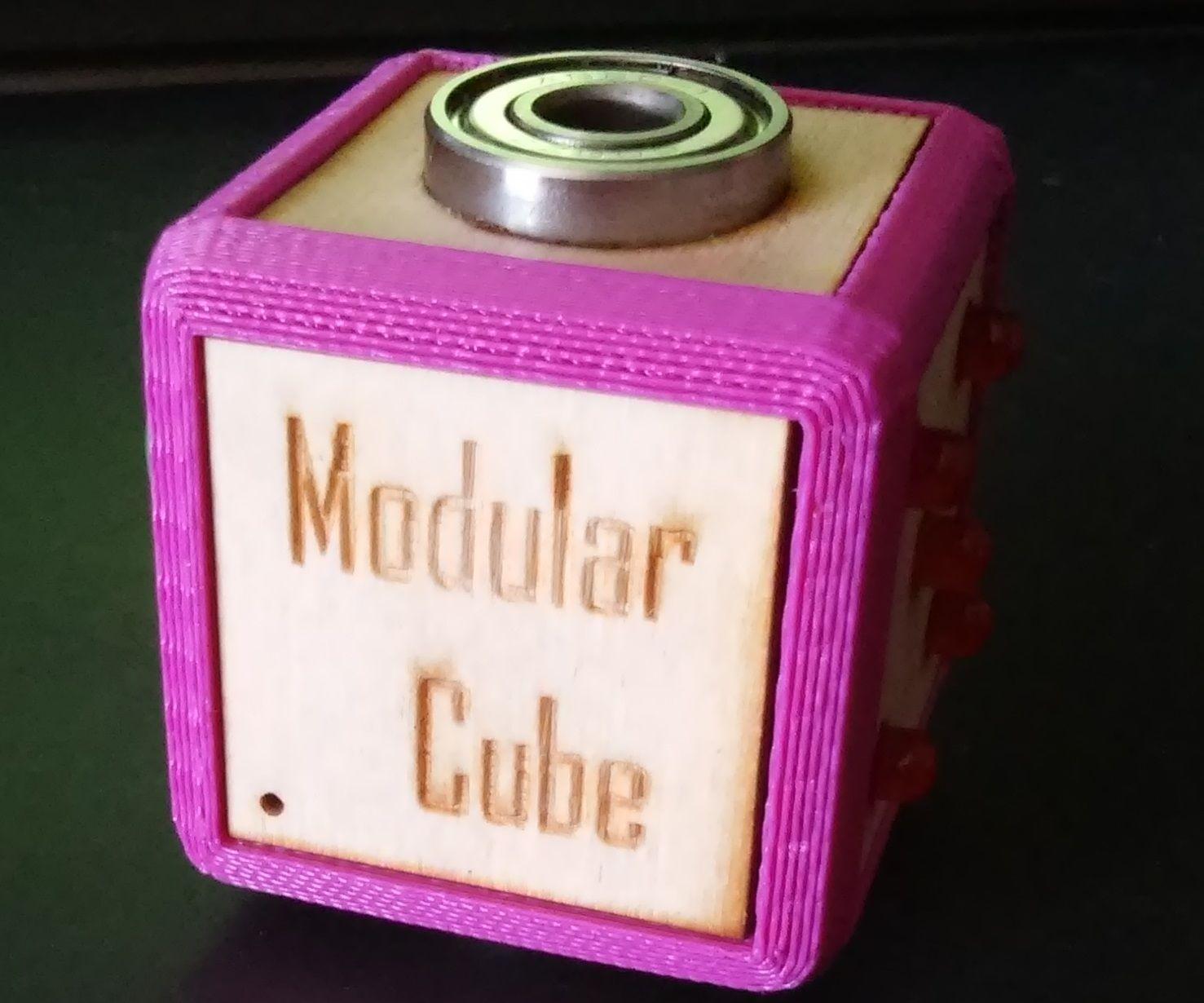 Modular Figet Cube