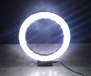 How to Make the Ring Lamp