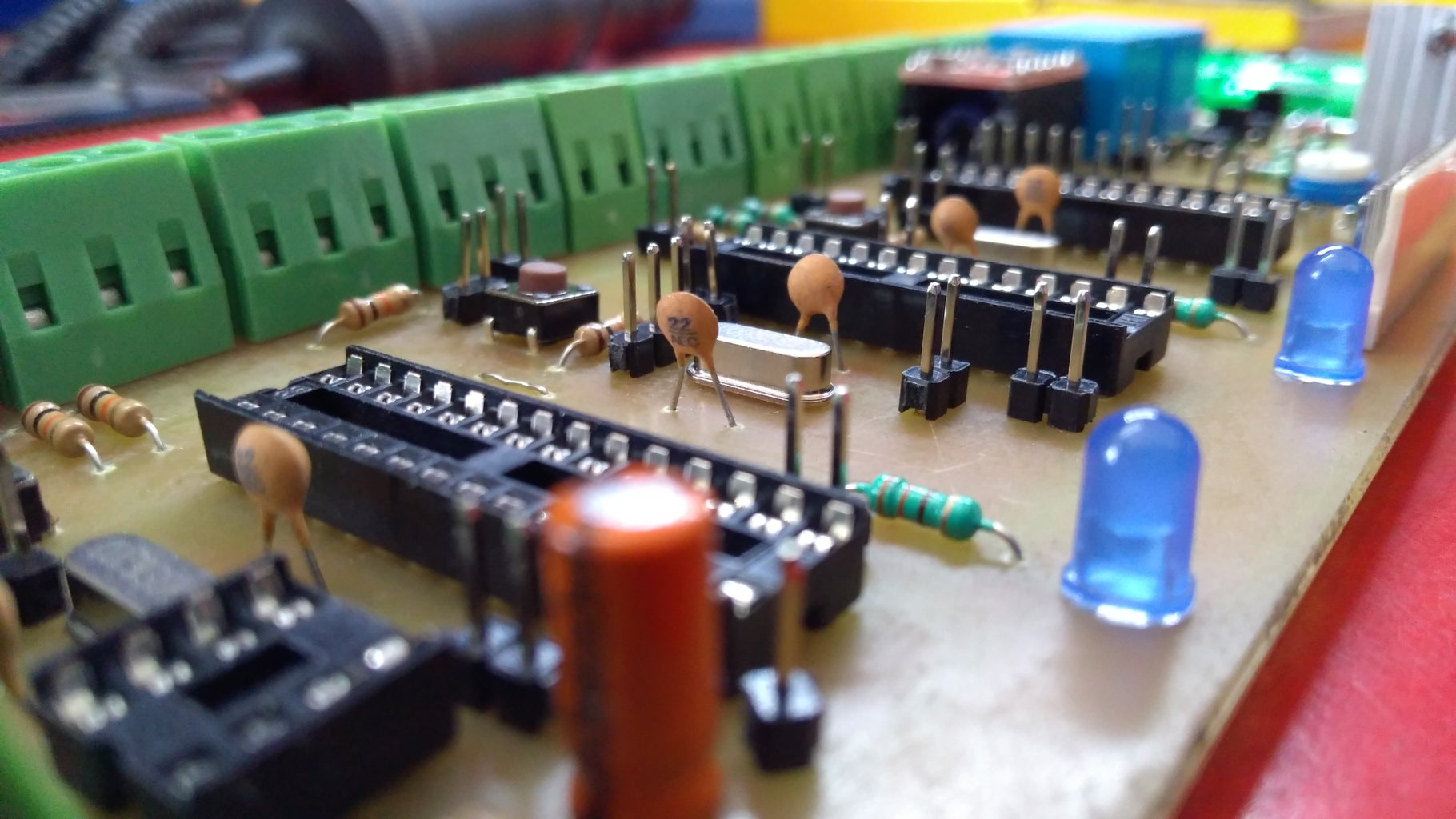 The Third Version of Motherboard for DigiCon MDF Winding Machine