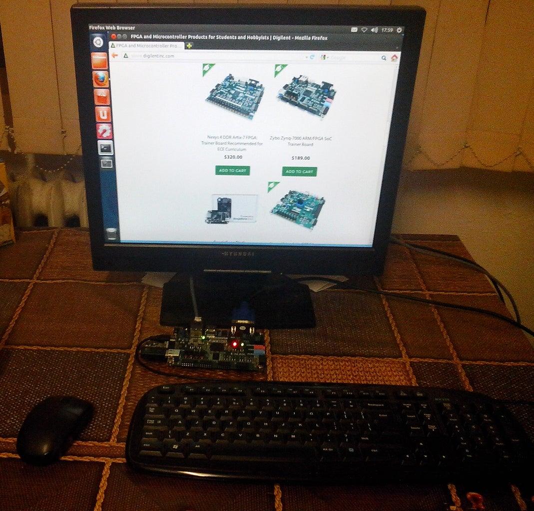 Zybo Board Setup