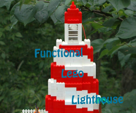 Arduino Controlled Lego Lighthouse