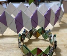 Zigzag Paper Chain