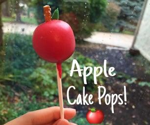 Apple Cake Pops
