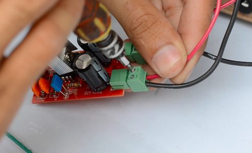 Connecting the Speed Controller