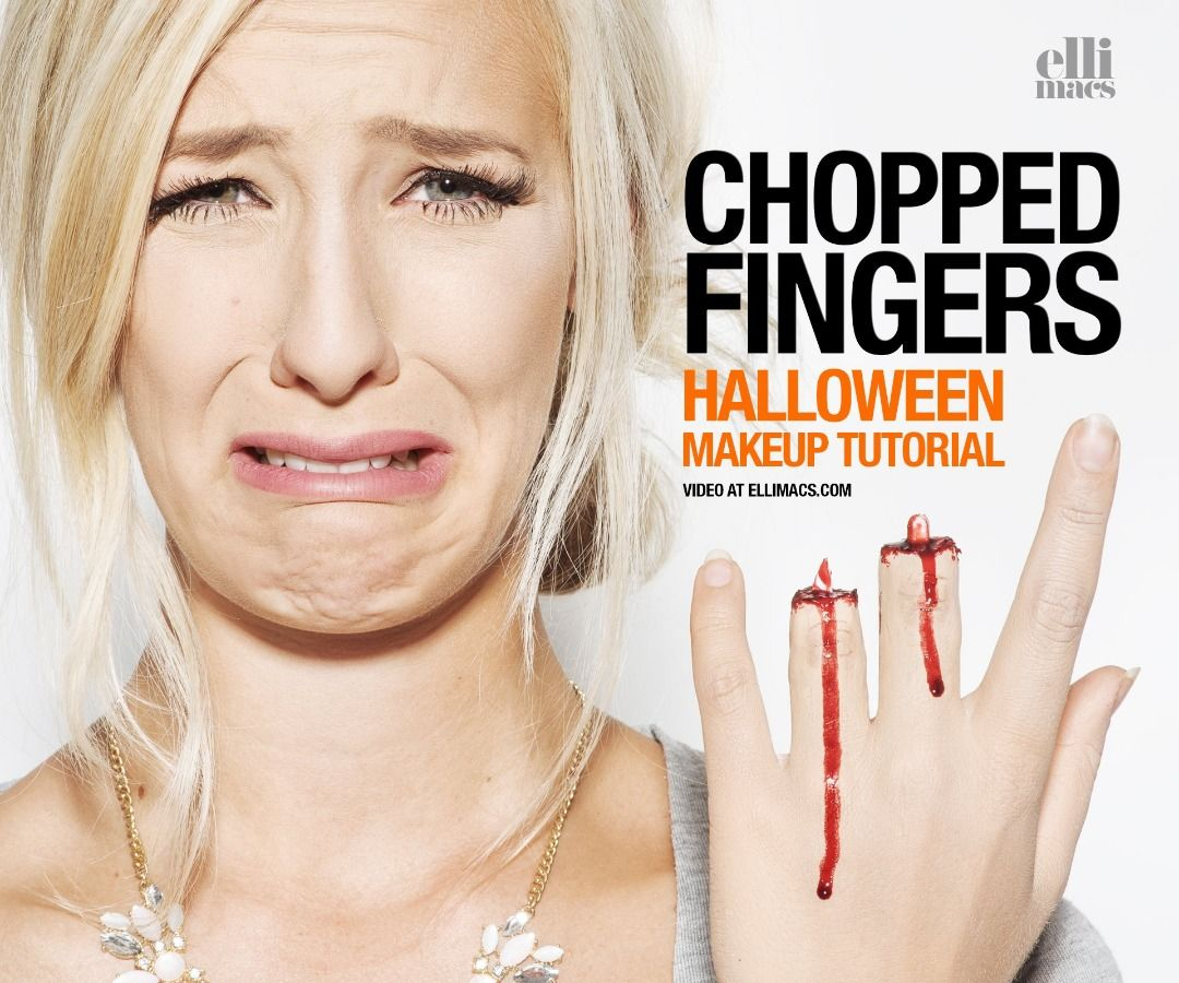 Severed Fingers - SFX Makeup Tutorial