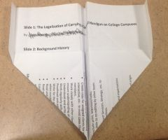 Paper Airplane that Flies