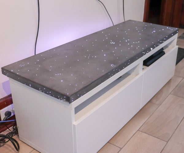Concrete Top With Embedded Lighting