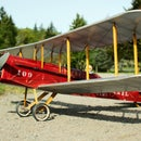 Dh4 Dumas RC plane