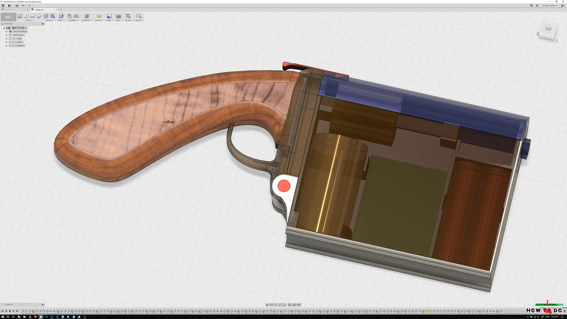 3D Model and Components