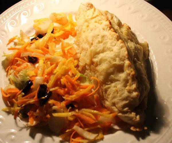 康沃尔馅饼土豆版(无麸质)