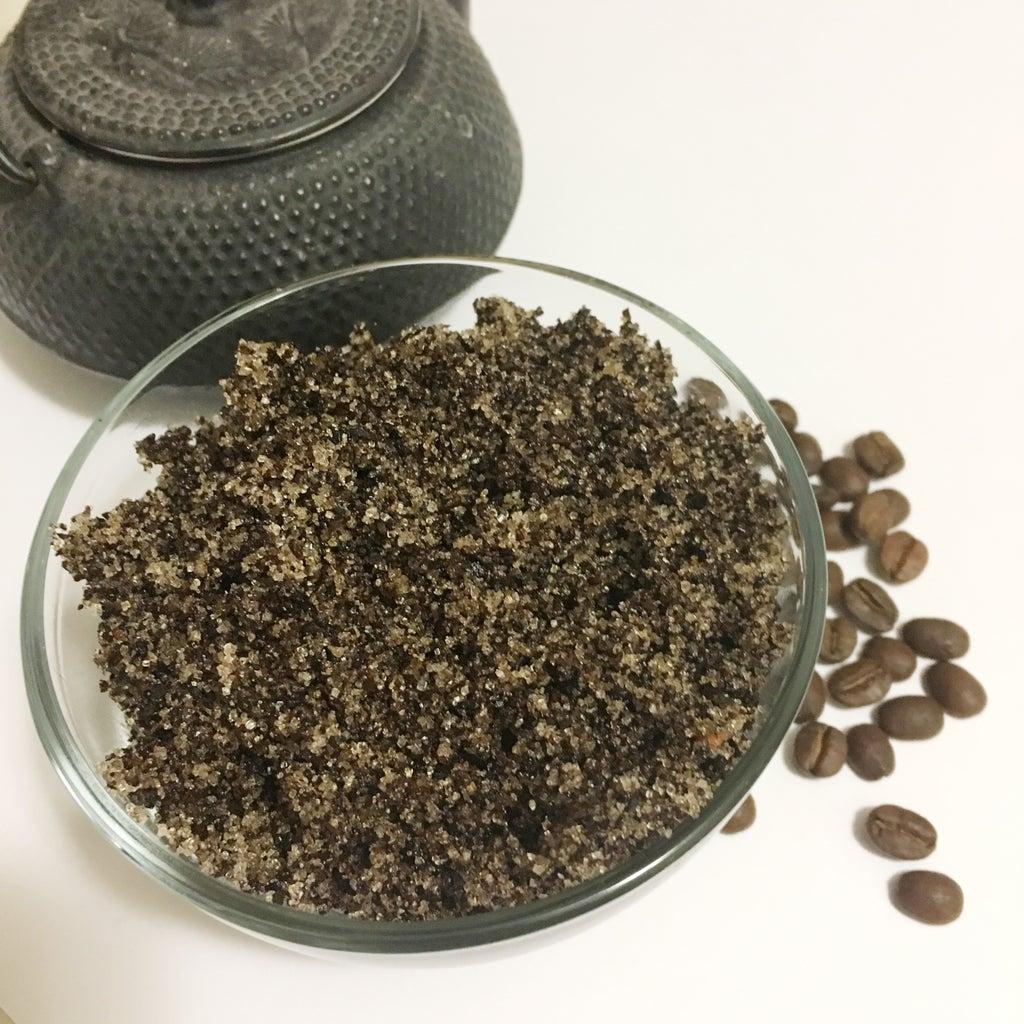Coconut Coffee Sugar Scrub
