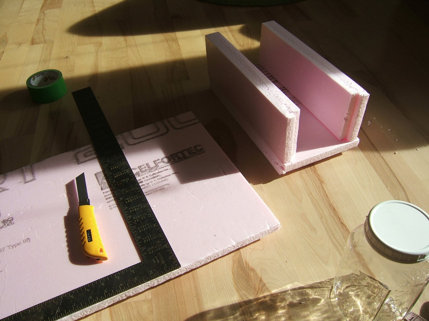 Measure and Cut the Box Sides