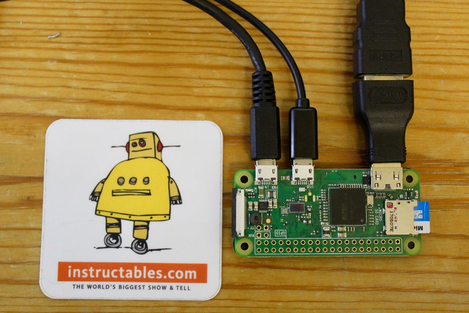 Installing Raspbian to the Raspberry Pi