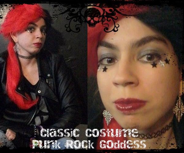 Classic Costume Idea: Punk Rock Goddess