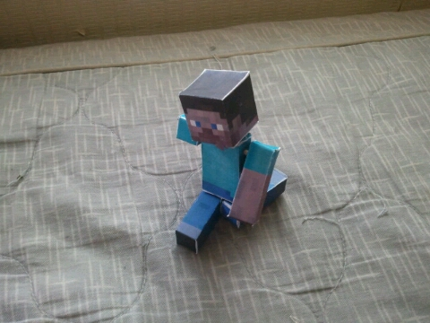 How  To Make A Stong Poseable Minecraft Toy Under $5