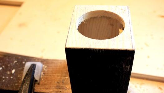 Passive Radiators Holes