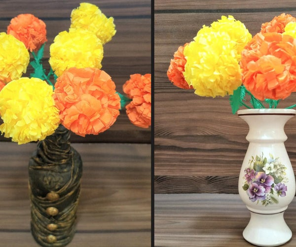 How to Make Marigold Flower