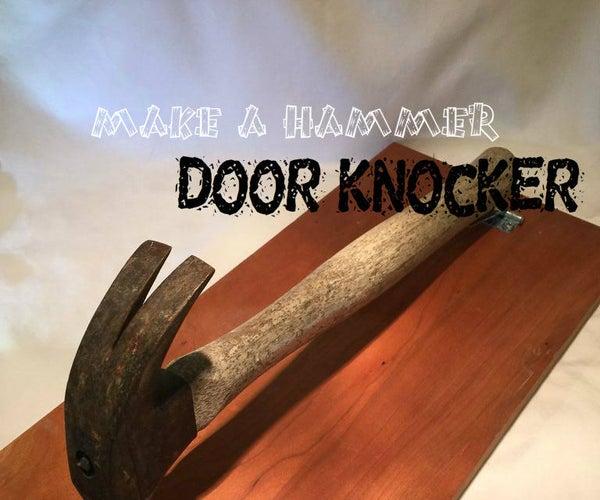 Hammer Door Knocker