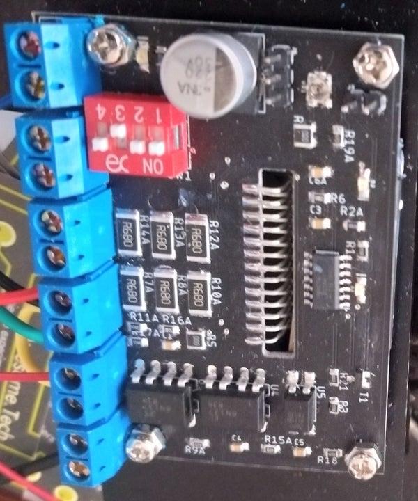 Eagle Hacks/tricks: Example TB6600 CNC Mill Stepper Motor Driver