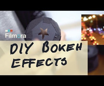 DIY Shaped Bokeh for Your Video