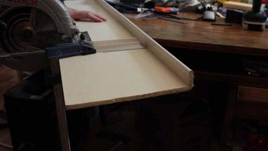 Cutting UPVC Panel